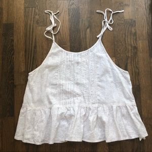 A&F Floral top, size S